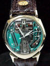 1961 Accutron Spaceview Alpha - 14K Gold