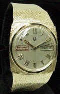 Bulova Accutron 2182 Dress Model 14K Solid Gold