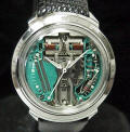 Accutron Spaceview B White Hands and Dots 214 Repaired