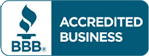 Old Father Time BBB Accredited Business Seal