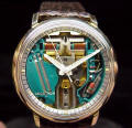 Gold Filled Accutron Spaceview 214 Repaired