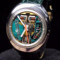 1974 Accutron Spaceview Oval Stainless Steel Repaired