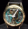 14K Gold Accutron Spaceview 214 Repaired