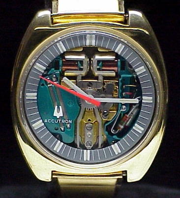 Bulova Accutron Spaceview Cushion 1970