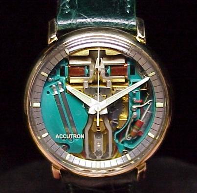 vintage bulova accutron astronaut watch
