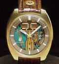 Cushion Case Bulova Accutron Spaceview 214 Repaired